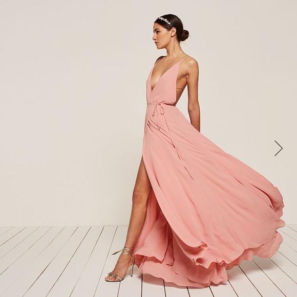 10ea80b0eb3c NWT Reformation Full Length Callalily Dress